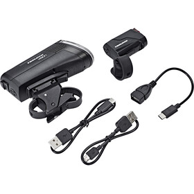 Trelock LS 760 I-GO Vision/LS 720 Lighting Set black